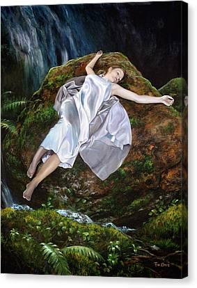 Falling Canvas Print by Tim Davis