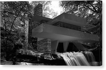 Falling Waters Canvas Print