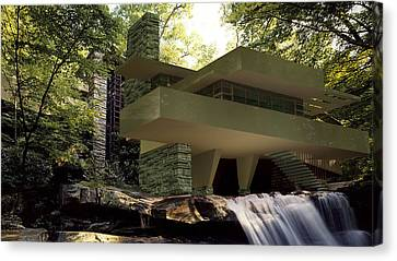 Fallingwaters Canvas Print