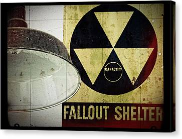 Fallout Canvas Print by Niels Nielsen