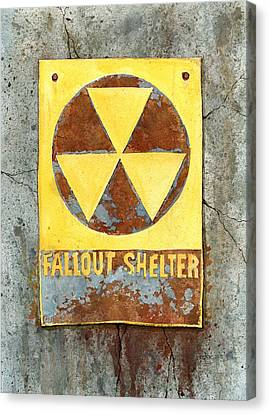 Fallout Shelter #2 Canvas Print