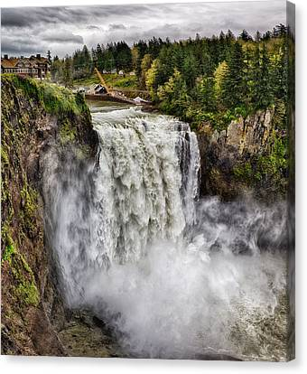 Falls In Love Canvas Print by James Heckt