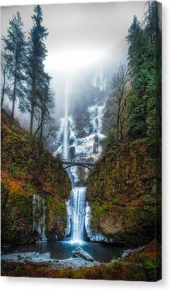 Falls Of Heaven Canvas Print by James Heckt