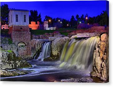 Falls Park 3 Canvas Print