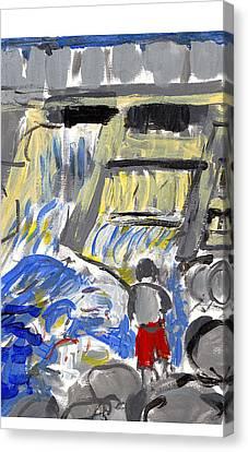 Falls Canvas Print by Samuel Zylstra