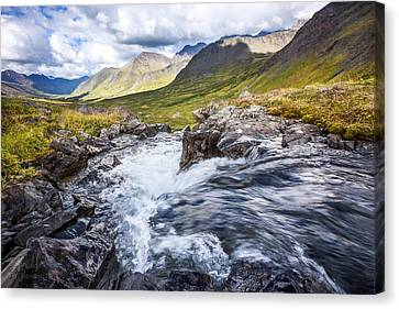 Canvas Print featuring the photograph Falls With A View by Tim Newton