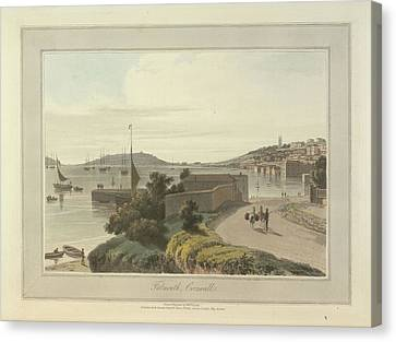 Falmouth Canvas Print by British Library