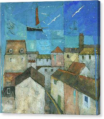Falmouth Canvas Print by Steve Mitchell