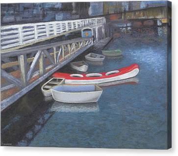 False Creek Ferry Landing Canvas Print