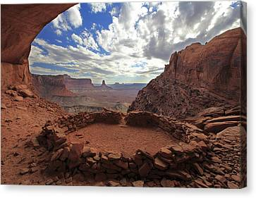 False Kiva Canvas Print