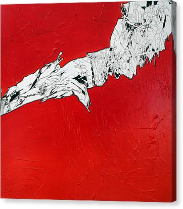 Familiarity Of An Unknown - Bottom Piece Canvas Print