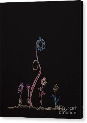 Painted Details Canvas Print - Families 16 by Christina Naman