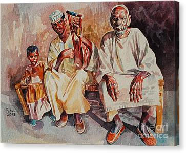 Canvas Print - Family by Mohamed Fadul