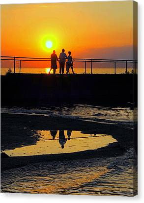 Family Moment Canvas Print