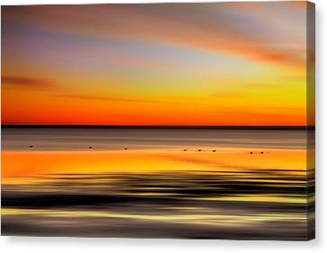 Family Outing - A Tranquil Moments Landscape Canvas Print by Dan Carmichael