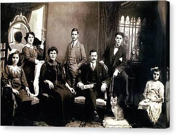 Family - Picture One Canvas Print by Darlene Kwiatkowski