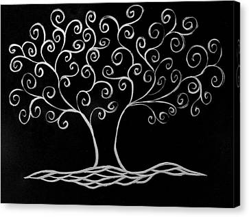 Family Tree Canvas Print by Jamie Lynn