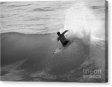 Canvas Print featuring the photograph Fan Spray by Paul Topp