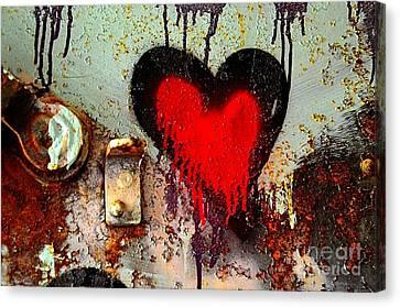 Fanatic Heart Canvas Print by Lauren Leigh Hunter Fine Art Photography
