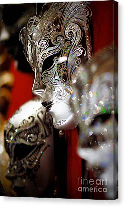 Fancy Masks For Masquerade Ball Canvas Print by Amy Cicconi