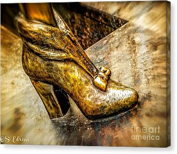 Fancy Shoe Canvas Print by Sabine Edrissi