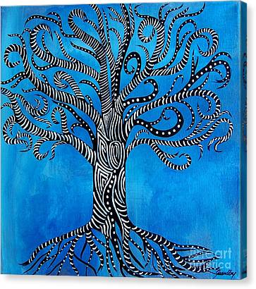 Fantastical Tree Of Life Canvas Print