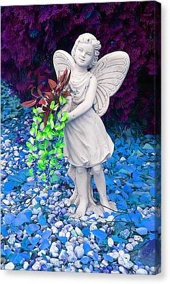 Fantasy Fairy Canvas Print by Aimee L Maher Photography and Art Visit ALMGallerydotcom