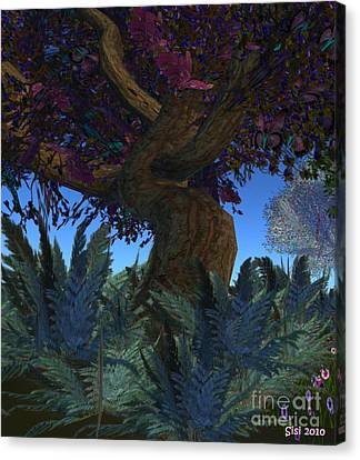 Fantasy Garden Canvas Print by Susanne Baumann