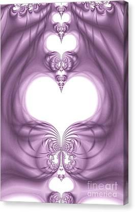 Fantasy Hearts Canvas Print