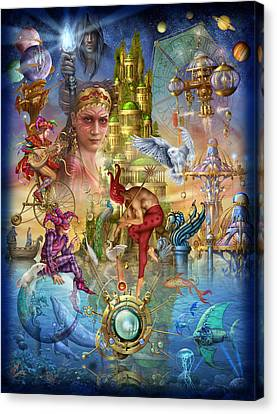 Performers Canvas Print - Fantasy Island by Ciro Marchetti