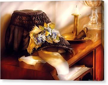 Fantasy - The Widows Bonnet  Canvas Print by Mike Savad