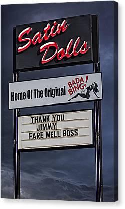 Farewell Boss Canvas Print
