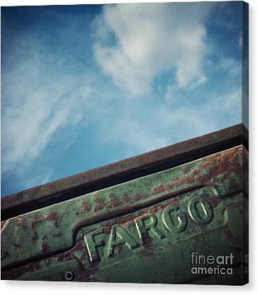 Fargo Canvas Print by Priska Wettstein