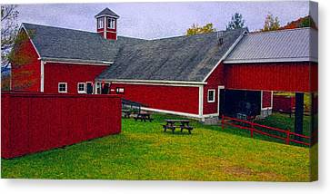 Farm Canvas Print by Bill Howard