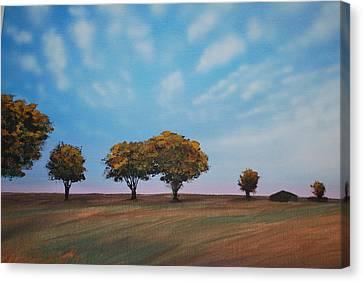 Farm Canvas Print by DC Decker