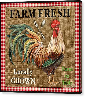 Farm Fresh-jp2382 Canvas Print by Jean Plout