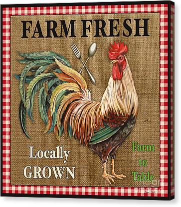 Locally Grown Canvas Print - Farm Fresh-jp2382 by Jean Plout