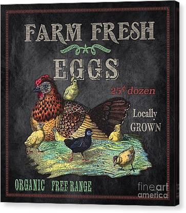 Farm Fresh-jp2636 Canvas Print by Jean Plout