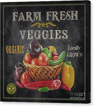 Farm Fresh-jp2637 Canvas Print by Jean Plout