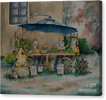 Farm Fresh Canvas Print by Kathleen Keller