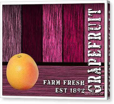 Grapefruit Canvas Print - Farm Fresh by Marvin Blaine