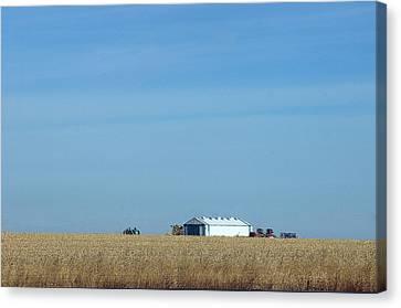 Farm House Kansas Canvas Print