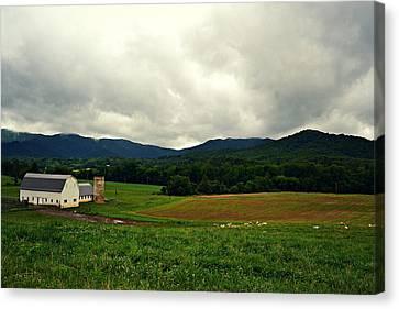 Farm In Swannanoa Nc Canvas Print