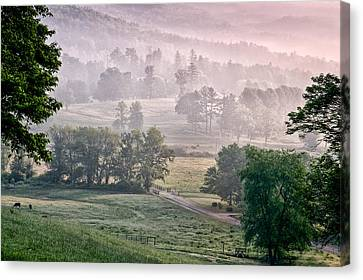 Farm On Crab Creek - Shoal Falls Farm Canvas Print