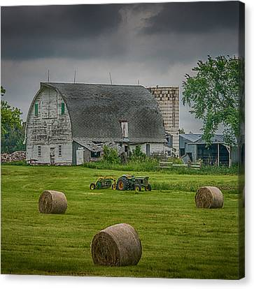 Farm Scene Canvas Print by Paul Freidlund