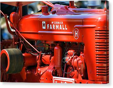 Farm Tractor 11 Canvas Print