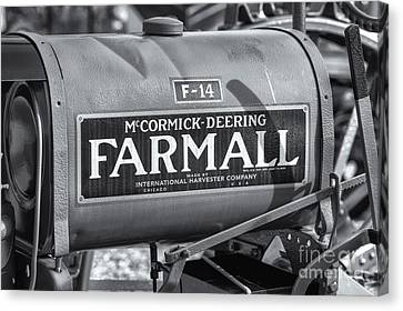 Farmall F-14 Tractor II Canvas Print by Clarence Holmes