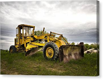 Farmer Toy Canvas Print by Mark Baker