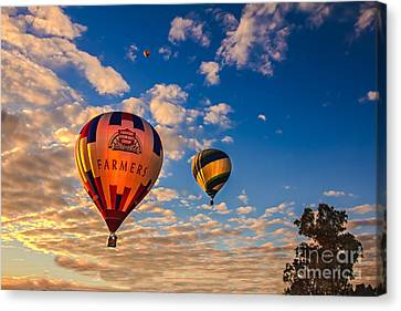 Farmer's Insurance Hot Air Ballon Canvas Print