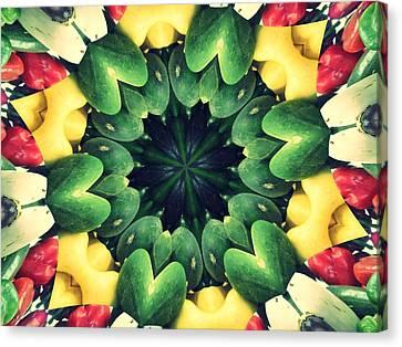 Farmstand Canvas Print - Farmer's Market Collide-a-scope by Sue  Thomson